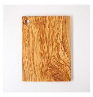 Planche à découper en bois d'olivier – 40 x 30 cm