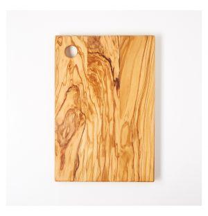 Planche à découper en bois d'olivier – 30 x 20 cm