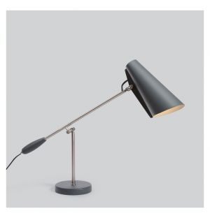 Lampe de table Birdy grise