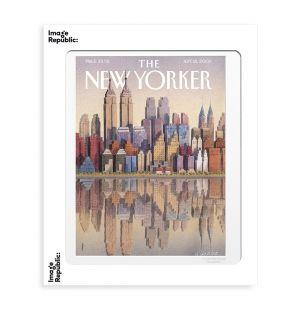 Affiche «Twin Towers » par Gürbüz Eksioglu - 40 x 50 cm