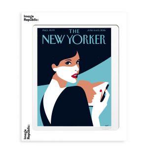 Affiche «Page turner » par Malika Favre - 40 x 50 cm