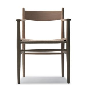 CH37 Armchair Soaped Oak Frame & Natural Papercord Seat