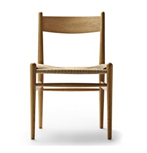 CH36 Dining Chair Oiled Oak & Natural Paper Cord