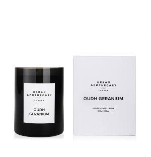 Bougie parfumée Oudh Geranium - 300 g