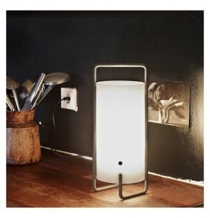 Lampe de table ASA structure blanche