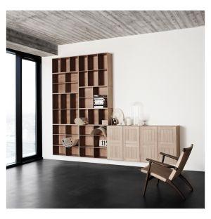 Système d'étagères modulables MK en chêne savonné - Carl Hansen & Son