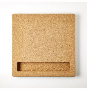 Tableau en liège carré