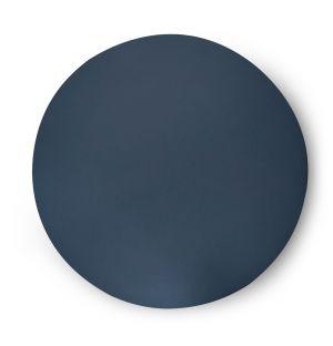 Set de table rond gris Cuero - 36 cm