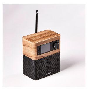 Système Audio STREAM façon noyer