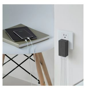 Chargeur SMART 4 CHARGER Gris Ardoise