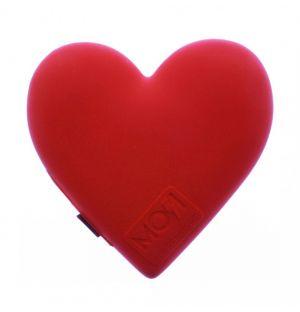 Batterie externe Emoji Coeur rouge