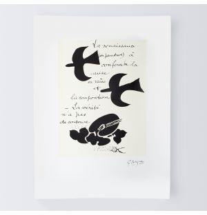 Affiche «La Renaissance» - Georges Braque