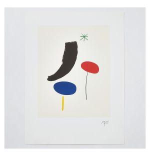 Affiche «Parler Seul» de Joan Miró