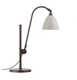 Lampe Bestlite BL1 Noire, Laiton & Blanche