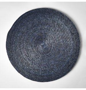 Set de table rond ardoise - 38 cm