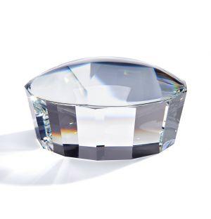 Presse-papier Facet en cristal