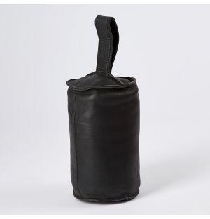 Cale-porte Camou Cuir Coloris noir