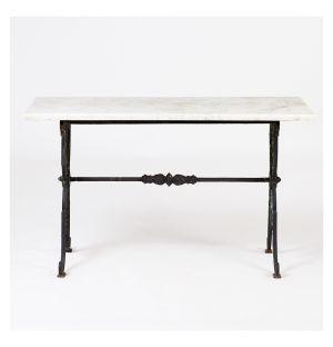 Table Vintage Butcher en marbre