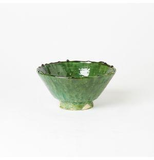 Vase sur pied vintage Tamegroute – 17 cm