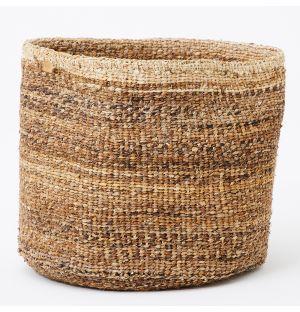 Panier Matunda tressé en fibres de banane – Extra large