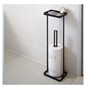 Portant à papier hygiénique Tower noir