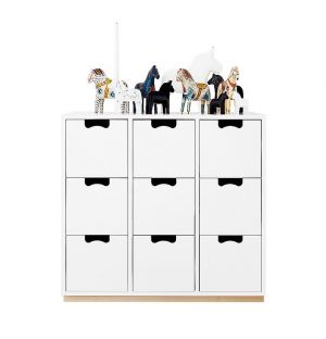 Modules de rangement Snow B3 - ASPLUND