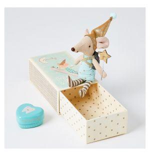 Fée Petite Souris dans sa boîte Modèle garçon