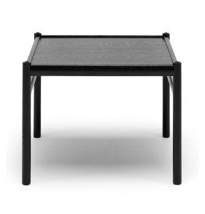 Table d'appoint Colonial OW449 chêne teinté noir