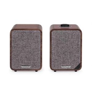 MR1 MK2 Enceintes active Bluetooth noyer