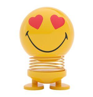 Figurine jaune Smiley Love - Small