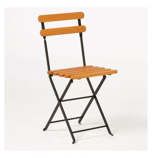 Chaise pliante noire Bistro 403