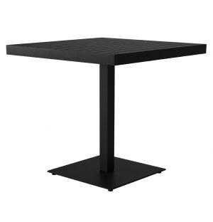 Table bistrot Eos en aluminium