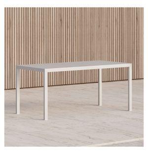 Table rectangulaire Eos en aluminium