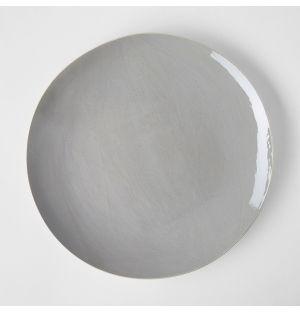 Assiette de table gris bleuté - 29 cm