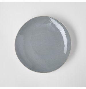 Assiette à dessert gris bleuté - 20 cm