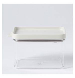 Boîte de conservation Omnia rectangulaire blanche – 700 ml