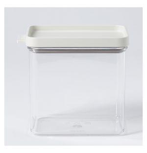 Boîte de conservation Omnia rectangulaire blanche – 1100 ml