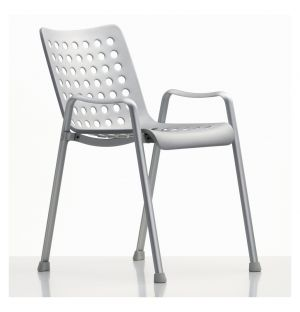 Chaise Landi aluminium anodisé mat