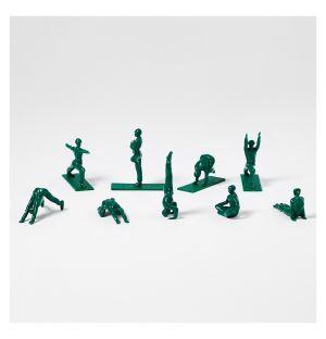Ensemble de 9 figurines Original Yoga Joes