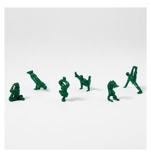 Ensemble de 6 figurines Advanced Yoga Joes