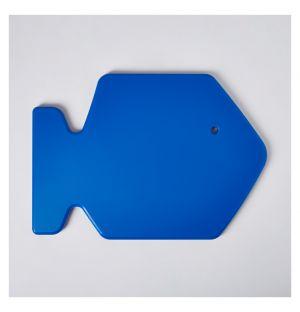 Planche à découper bleue Fish