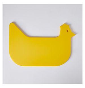 Planche à découper jaune Chicken