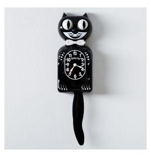 Horloge noire Kit-Cat Classic