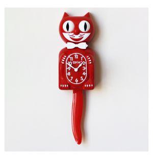 Horloge rouge Kit-Cat - édition limitée