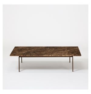 Table basse en marbre Pelham Emperador