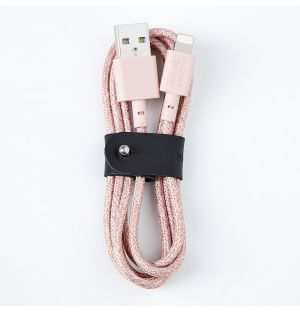 Câble Lightning BELT Rose 1,2m