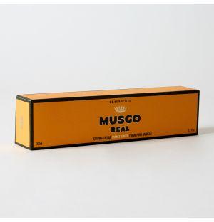 Crème à raser Musgo Ambre Orange