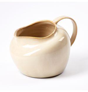 Carafe en céramique gris clair – L