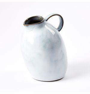 Carafe en céramique blanche – S
