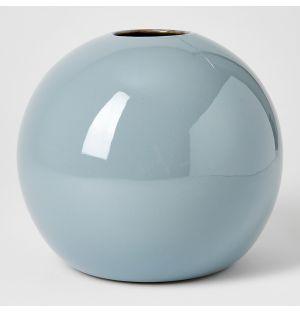 Vase bleu Boule - Extra large